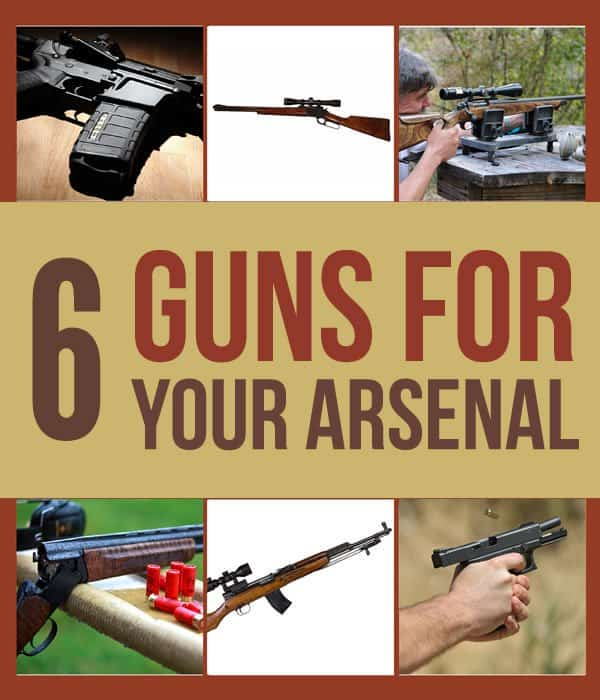 6 Survival Guns For Your Arsenal
