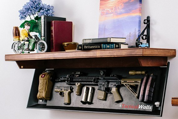 How To Conceal Your Weapons Diy Gun Safes Gun Carrier