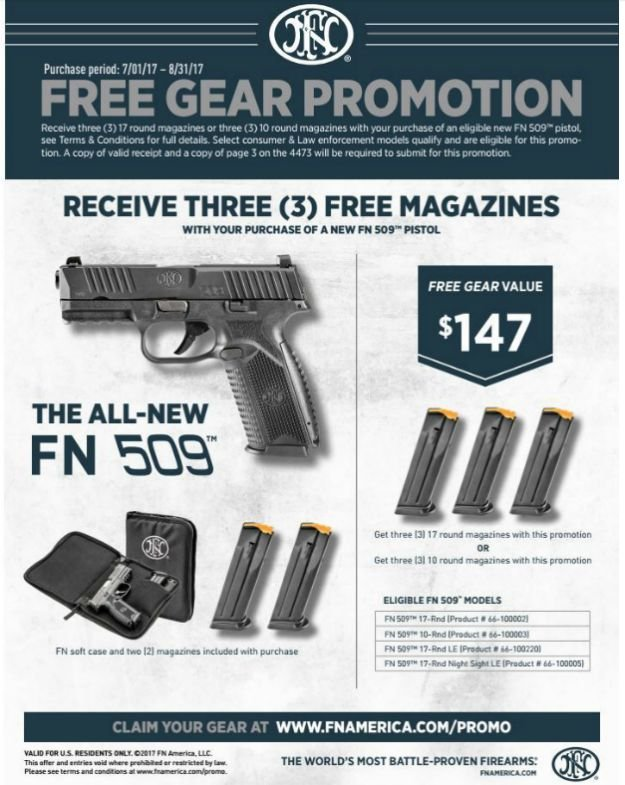 FN America | Gun Deals For Summer | Gun Brands With Great Offers