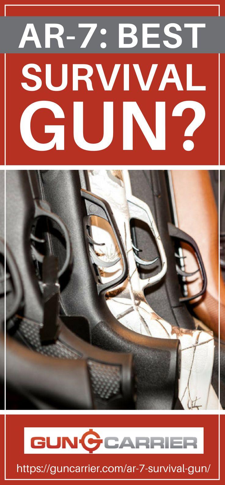 AR-7 | Best Survival Gun? | https://guncarrier.com/ar-7-survival-gun/