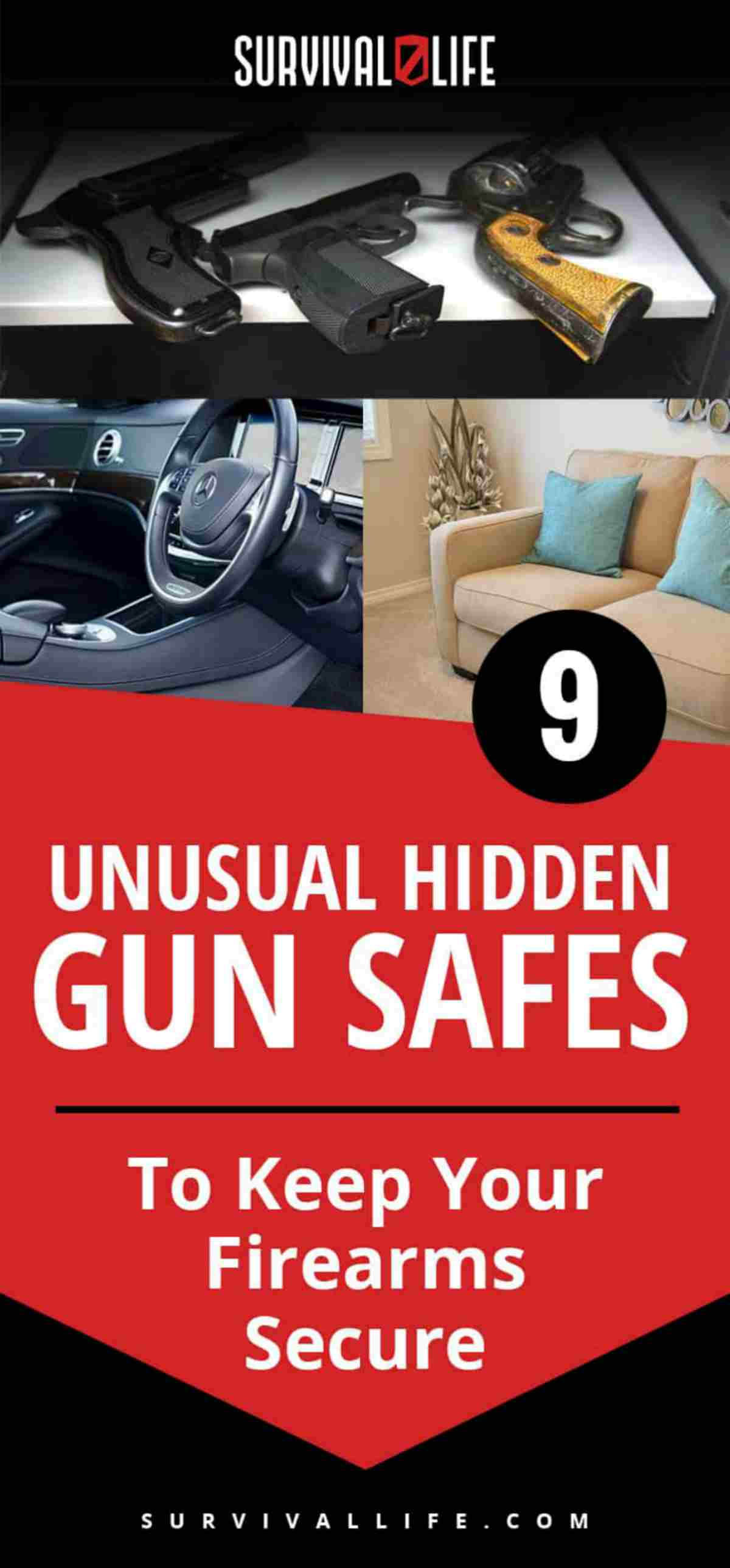 Placard | Gun Safes Ideas | Unusual Hidden Gun Safes To Keep Your Firearms Secure